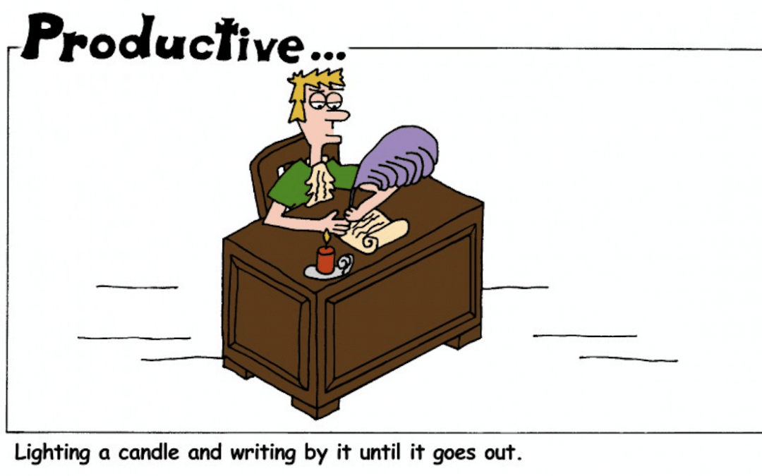 Can a Candle Be the Solution to Productive Writing?